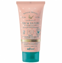 SPF 20 BB Facial Cream for Sensitive Couperose-Prone Skin