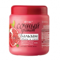 "BALM ""Volume and power"" for all hair types"