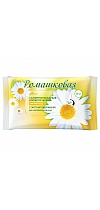"Cosmetic wet wipes ""Soft care"" with chamomile extract for sensitive skin"