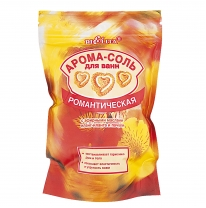 "AROMA SALT for bath ""Romantic"" with ethereal oils of ylang–ylang and patchouli"