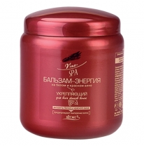 Firming BALM–ENERGY on white and red wine for all hair types