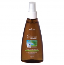 OIL-SPRAY for safe suntan SPF 15 with vitamin E